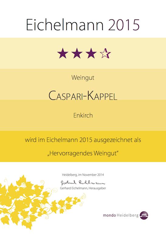 Caspari-Kappel Urkunde